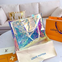 Hipgirls Louis Vuitton LV Hot Sale Classic Laser Colorful Embossed Letter Women Handbag Shoulder Bag
