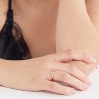 Elizabeth Stone Opal Stacking Ring | Urban Outfitters