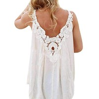 Embroidered Peace Blouse