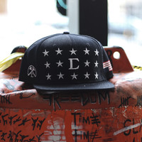 Civil - USA Civil Snapback - Black
