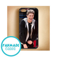 Niall Horan laughing iPhone 4/4s 5/5s/5c & iPod 4/5 Rubber Case