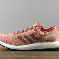 Adidas PureBoost Unisex S82101 Coral Pink Casual Running Shoe