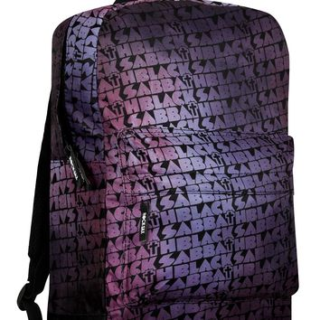 RockSax Black Sabbath Distress Cross Backpack