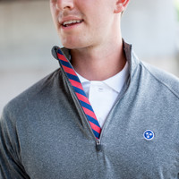 Tristar Sport Pullovers - Volunteer Traditions, Red and Navy Stripe