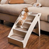 Pupstep Plus Pet Stairs | Pet Products | SkyMall