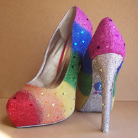 Gay Pride Wedding High Heels