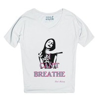 I Can't Breathe-Female Snow T-Shirt