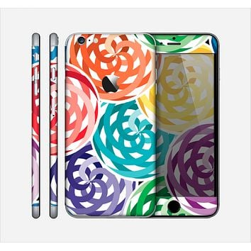 The Colorful Spiral Eclipse Skin for the Apple iPhone 6 Plus