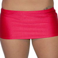 7 1/2 Inch Curve Hugging Mini Skirt