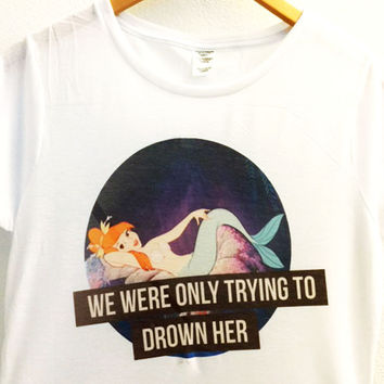 We Were Only Trying to Drown her Shirt | Neverland Mermaid Lagoon | Disney Peter Pan