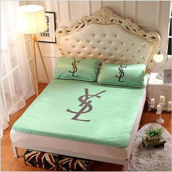 YSL Collapsible - Ice mat - Three-piece - Single bed - Double Green  B-AA#-CBJF