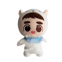 """[PCMOS] 2016 New KPOP EXO Plush Doh Kyungsoo D.O. 24cm/9"""" Baby Doll Stuffed Handmade Fans Toy Collection Free Shipping 16080405"""