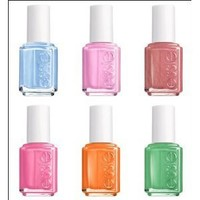 Essie Bikini so Teeny 2012 New Summer Collection 6pc Whole Pack (Full Size Bottle)