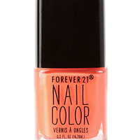 FOREVER 21 Coral Crush Nail Polish Neon Coral One