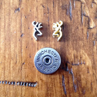 Browning Winchester Bullet Hunting Floating Charm