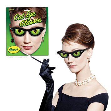 Cat Eye Glasses - Accoutrements / Archie McPhee Wholesale