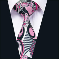 New Arrival Fashion Colorful Print Men`s Tie High Quality Design Necktie Neckwear For Wedding Party