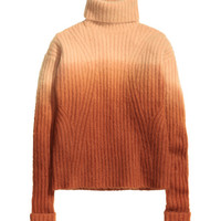Dip-dyed Turtleneck Sweater - from H&M