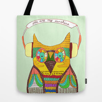 The Owl rustic song Tote Bag by Budi Satria Kwan
