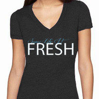 Womens Freshwater Michigan T-shirt - Lake4Life - Promoting and preserving the Great Lakes lifestyle