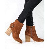 Sbicca - Lorenza - Suede Leather Ankle Booties