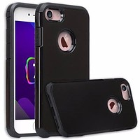 Apple iPhone 8 Case, Slim Hybrid Dual Layer Case Cover for iPhone 8 - Black
