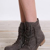 Blowfish Java Lace Up Boots in Dark Brown - $63.00