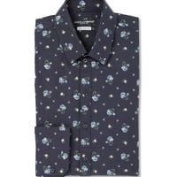 Dolce & Gabbana - Sicilia Slim-Fit Printed Cotton-Blend Shirt | MR PORTER