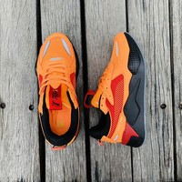 "Puma RS-0/X ""Orange&Black"" Men Women Running Shoes"