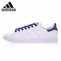 Adidas Stan Smith Men's Walking Shoes, White,Shock-absorbing Breathable Lightweight Wear-resistant  BA7299
