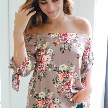 Floral Affections Top