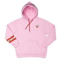 strawberry/water hoodie by STORE MEILI