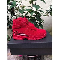 Air Jordan 8 Retro Men Fashion Sneakers Sport Shoes