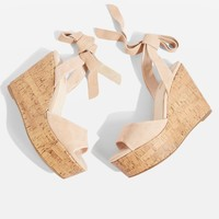 WICKED Two Part Wedges | Topshop