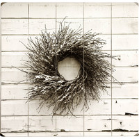 Winter Wreath Wall Decor
