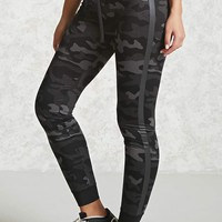 Active Camo Print Leggings