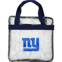 Forever Collectibles New York Giants Clear Messenger Bag