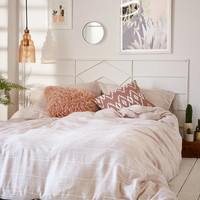 Nikko Marled Tie Duvet Cover   Urban Outfitters