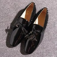 Cl Christian Louboutin Loafer Style #2356 Sneakers Fashion Shoes - Best Online Sale