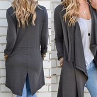 New Womens Knit Cardigan Perfect Neutral Loose Coat Gift-32