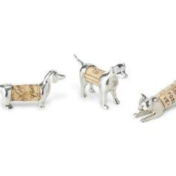 CORK PETS | Dog & Cat Wine Cork Holders, Dachshund, Labrador | UncommonGoods