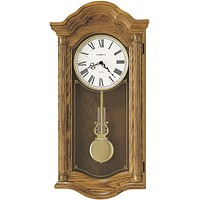 "28""H Lambourn II Quartz Wall Clock Golden Oak"