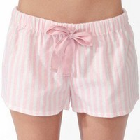 Vertical Stripe PJ Shorts