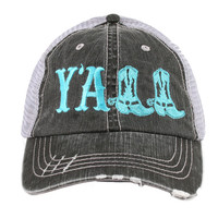 Y'all Trucker hats, baseball hats