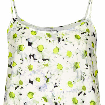 **DOUBLE STRAP DAISY CROP CAMI BY OH MY LOVE