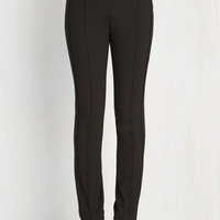 Menswear Inspired, Scholastic Long Skinny Auspicious Interviewee Pants by ModCloth