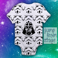 Darth Vader Troopers Baby Onesuit Baby Romper Baby Jumpsuit