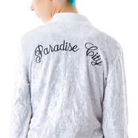Ruby Starling Paradise City Bomber White