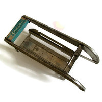 Vintage Kitchen French Fries Slicer, Made of Honor, Made in Holland, Shabby Chic Decor, Chippy, Retro Kitchen