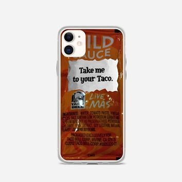 Taco Bell, Take Me To Your Taco iPhone 11 Case